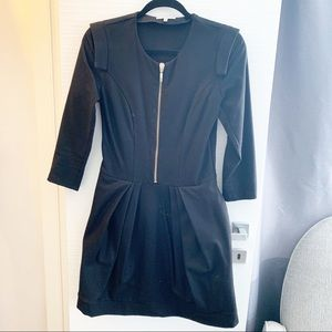 .Amen. Wool Zip Up Dress Made in Italy